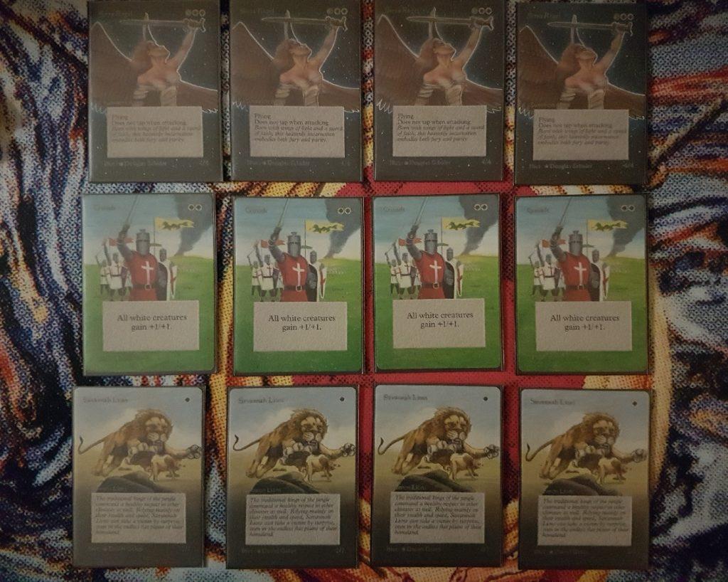 Serra / Crusade / Lions
